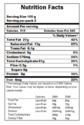 Nutritional Labeling Testing Service