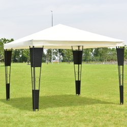 Wicker Outdoor Gazebo