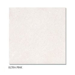 Ceramic Gloss Ultra Pink Double Charge Vitrified Tiles, Thickness: 10 mm, Size: 600x600mm