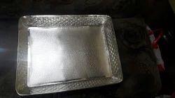 Designer Silver Tray