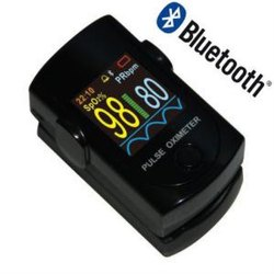 Blue Tooth Fingertip Pulse Oximeter