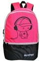 Polyester Pink School Bag