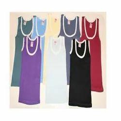Namskar Sleeveless Kids Plain Cotton Vest, Size: 40-80 Cm