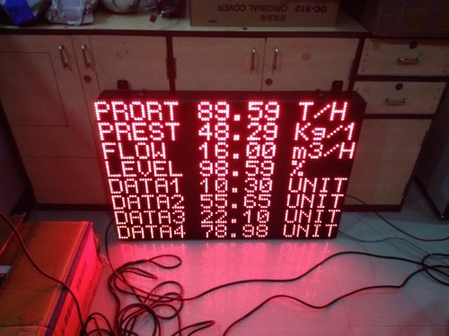 Industrial Production LED Display for Advertisement, Voltage: 220-240 V AC