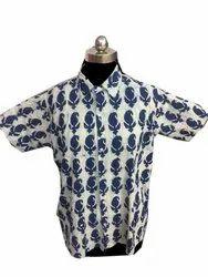 Indian Handmade Block Print Shirt