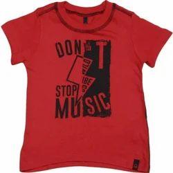 Polyester Kids T Shirt