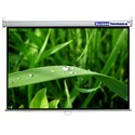 Screen Technics 4 H X 6 W Instalock Projector Screen Super Deluxe Grade Support HD/4k/3d Technology