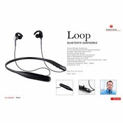 Black Loop Bluetooth Earphones