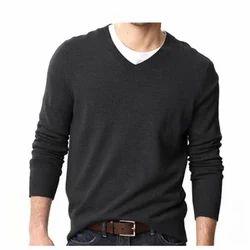 Cashmilon V-Neck Mens Sweater