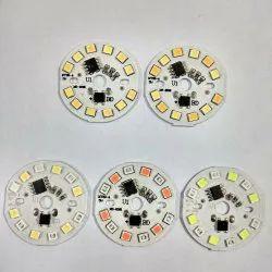 Chinese Round 5W Dob Orange White 30mm 14 LED