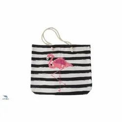 Printed Handled Cotton Carry Bag
