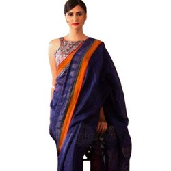 Linen Cotton New Designer Party Wear Saree