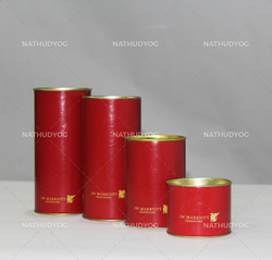 Cylindrical Paper Tube Containers