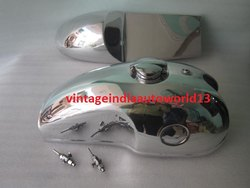 Benelli Mojave Cafe Racer 260 360 Petrol Fuel Gas Tank Hood Seat Pair With Monza Cap And Tap