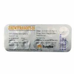Zhewitrasoft 20mg Tablet