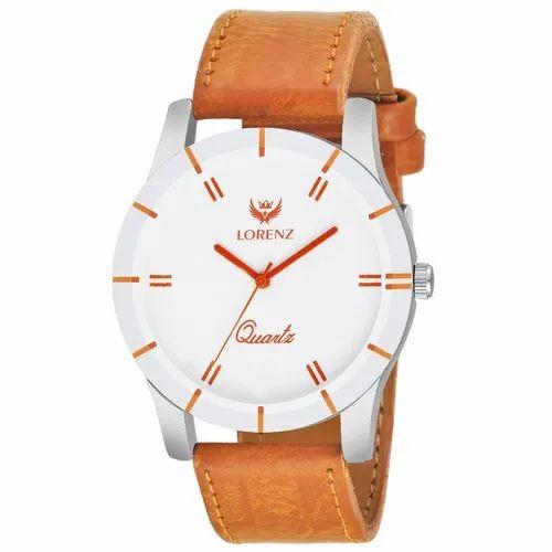 459cd41d72e8 Lorenz White Dial Men s Orange Analog Watch- MK-1098A at Rs 110 ...