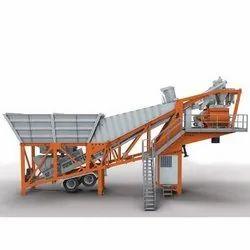 Auto Mobile Concrete Batching Plant