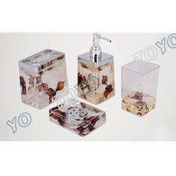 4 in 1 Acrylic Bath Set