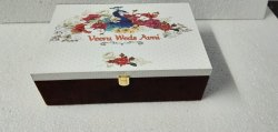 Wedding Card With Gift Sweet Box