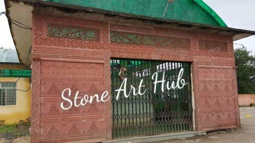 Stylish Stone Gate Manufacturer From Makrana