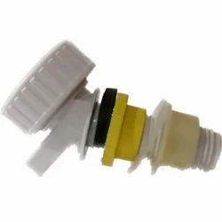 White Plastic Cool Water Jug Tap