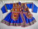 Garba Style Kids Kediya - Navratri Costume - 24 Size - 5 to 6 Year