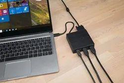 VGA Targus DOCK412AP USB-C Alt-Mode Travel Dock (Black)