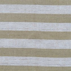 Cotton Woven Striped Fabric Row Material
