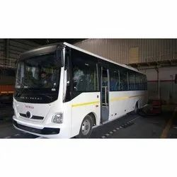 Shuttle Bus Rental Service, Hyderabad, Seating Capacity: 18 Seater