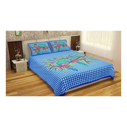 Wonderful Floral Printed Double Bed Sheet