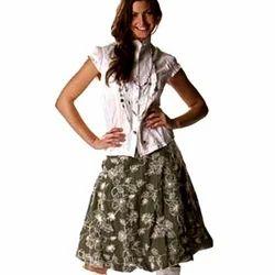 b33aaae3be7580 Ladies Short Skirt And Top Set, Rs 1250 /set, Navedam Enterprises ...