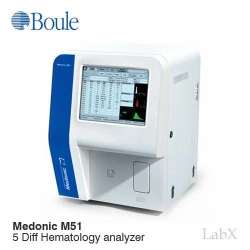 Hematology Analyzers Medonic M51 5 Part Diff