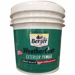 Matt Alkali Guard Anti efflorescent Berger Weather Coat Exterior Wall Primer, Brush, Spray