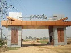 Entrance Gate For Complex