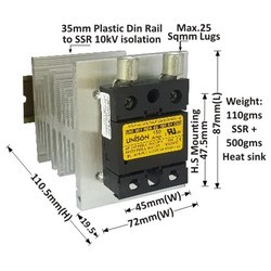 150 AMP RANDOM DC TO AC SOLID STATE RELAY