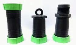 1/2 inch Plastic Rain Pipe Fitting