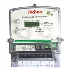 Techno Prepaid Energy Meter, for Industrial and Laboratory