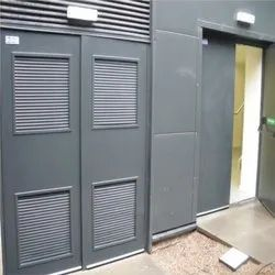 Semi Louver Door
