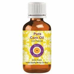 Deve Herbes Pure Corn Oil (Zea mays) 100% Natural Therapeutic Grade Cold Pressed