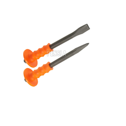 High Quality Pointed & Flat Chisel With Or Without Grip