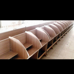 Wooden Computer Lab Table