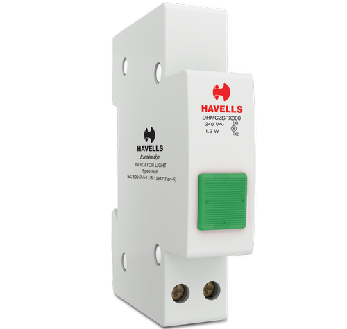 Havells Indicator Light Green Switchgear