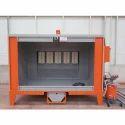Aluminum Single Phase Powder Coat Booth