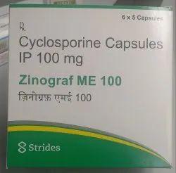 Cyclosporine Capsule 100 mg