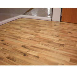 Brown Wooden Finish Vinyl Floorings, For Residential,Commercial Etc, Thickness: 2 Mm