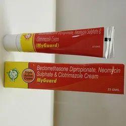 Beclomethasone Dipropionate Neomycin Sulphate andClotrimazole Cream