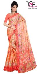 Shivangi Vol 2 Pxc Moss Chiffon Border Printed Saree
