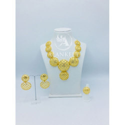 Artificial Gold Plated Set