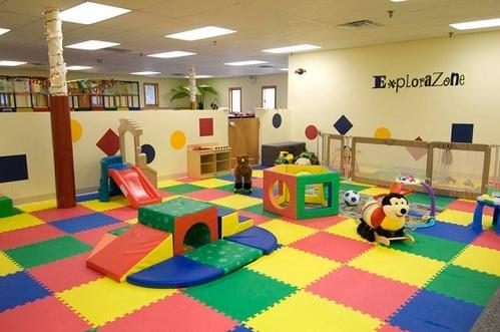 Flooring Work - Rubber Flooring & Interlocking Rubber