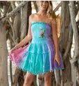 Tie Dye Ladies Dress